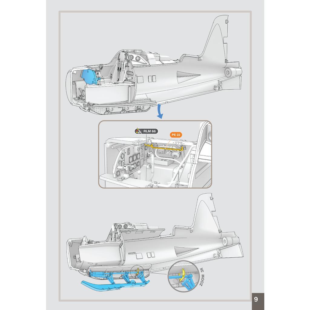【新製品】20-48236 1/48 メッサーシュミット Me163B コメート