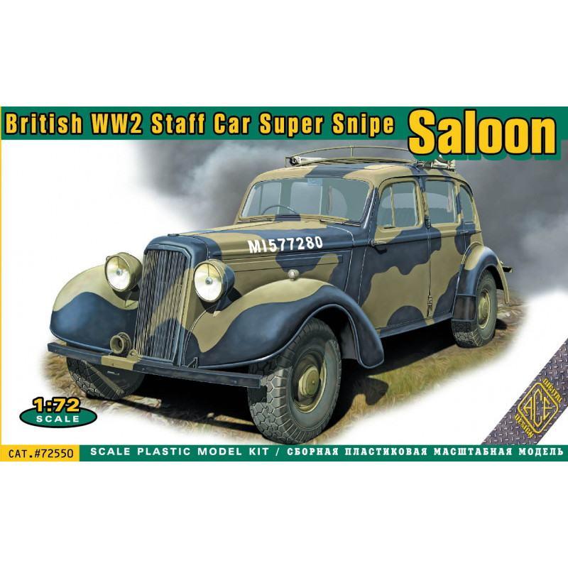【新製品】72550 英 スーパースナイプ サルーン軍用スタッフカー