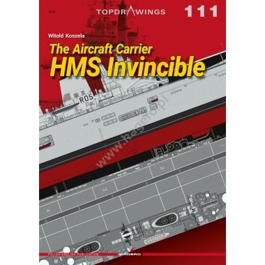 【新製品】TOPDRAWINGS 7111 イギリス海軍 航空母艦 インヴィンシブル