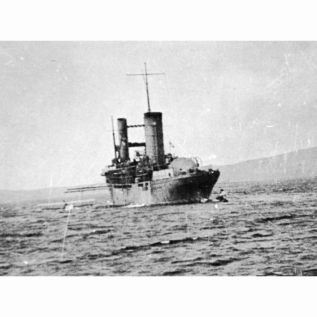 700-029 英海軍 水上機母艦 カンパニア Campania