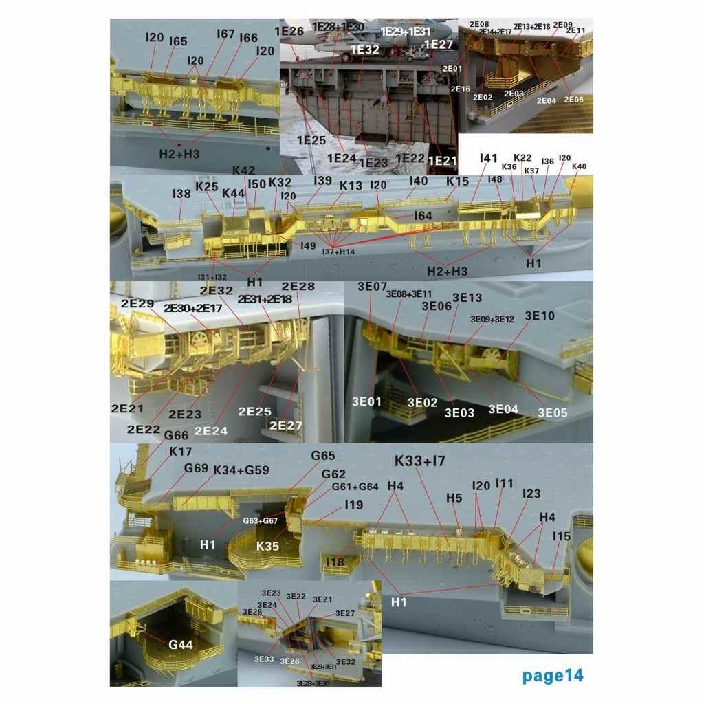 FS700131)米海軍 航空母艦 CV-63 キティホーク 2006 アップグレードセット