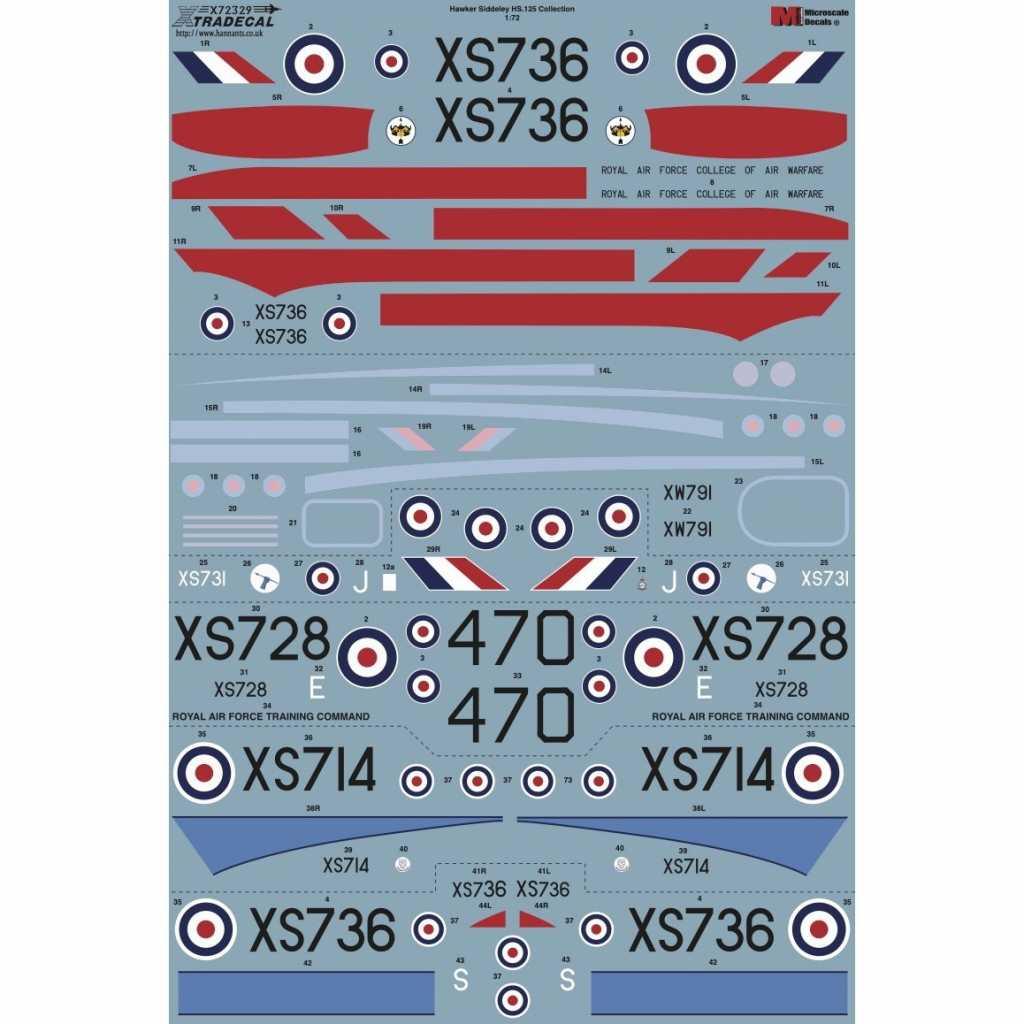 【新製品】X72329 ホーカー シドレー HS.125 コレクション