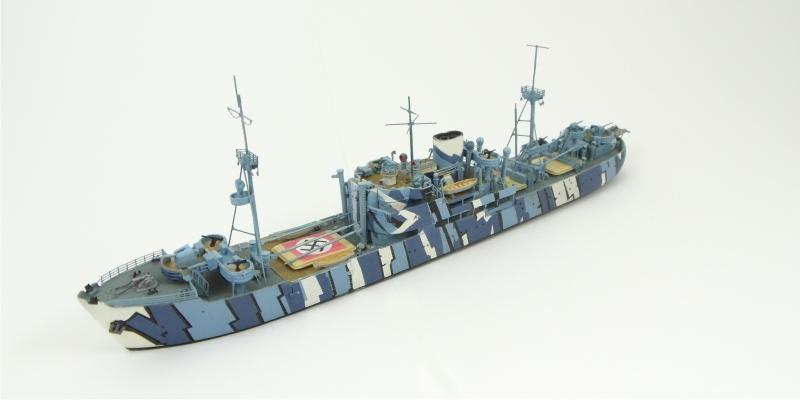 7097 機雷掃海艦 13号 ミネルヴァ Minerva 1943
