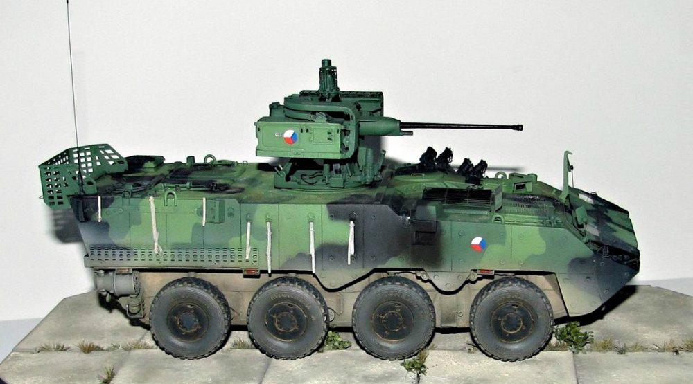 F3057 KBVP パンデュールII 装輪装甲車
