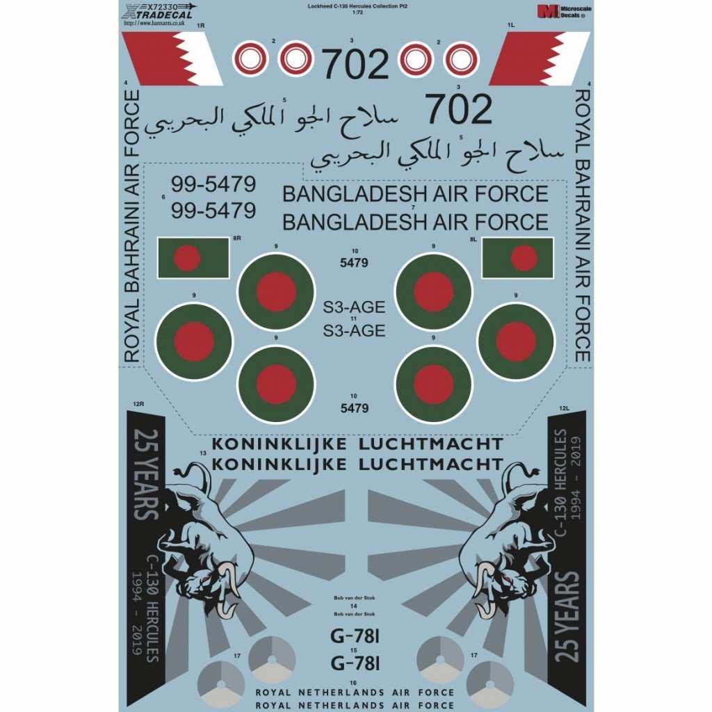 【新製品】X72330 ロッキード C-130 ハーキュリーズ コレクション Pt.2