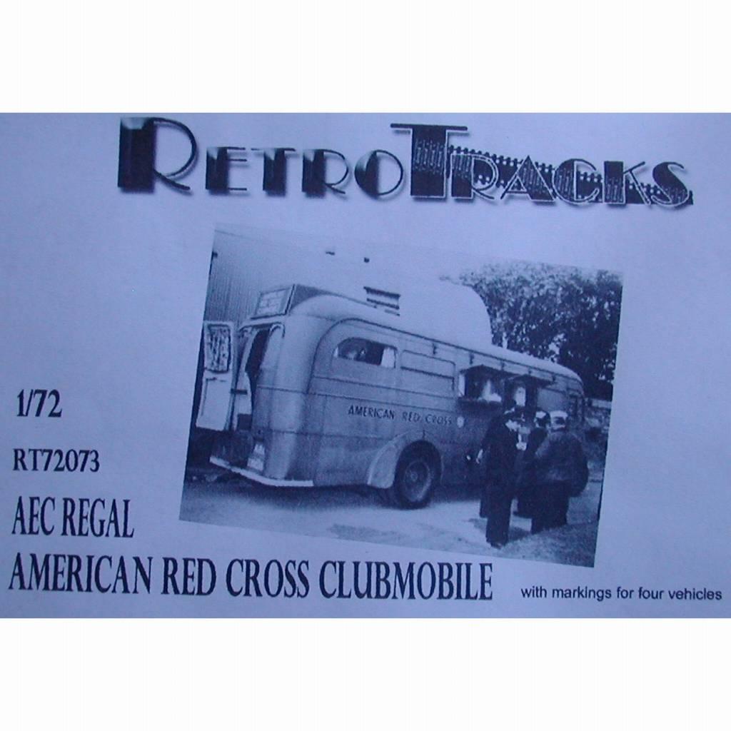 R72073 WWII アメリカ AEC リーガルアメリカ赤十字クラブモービル