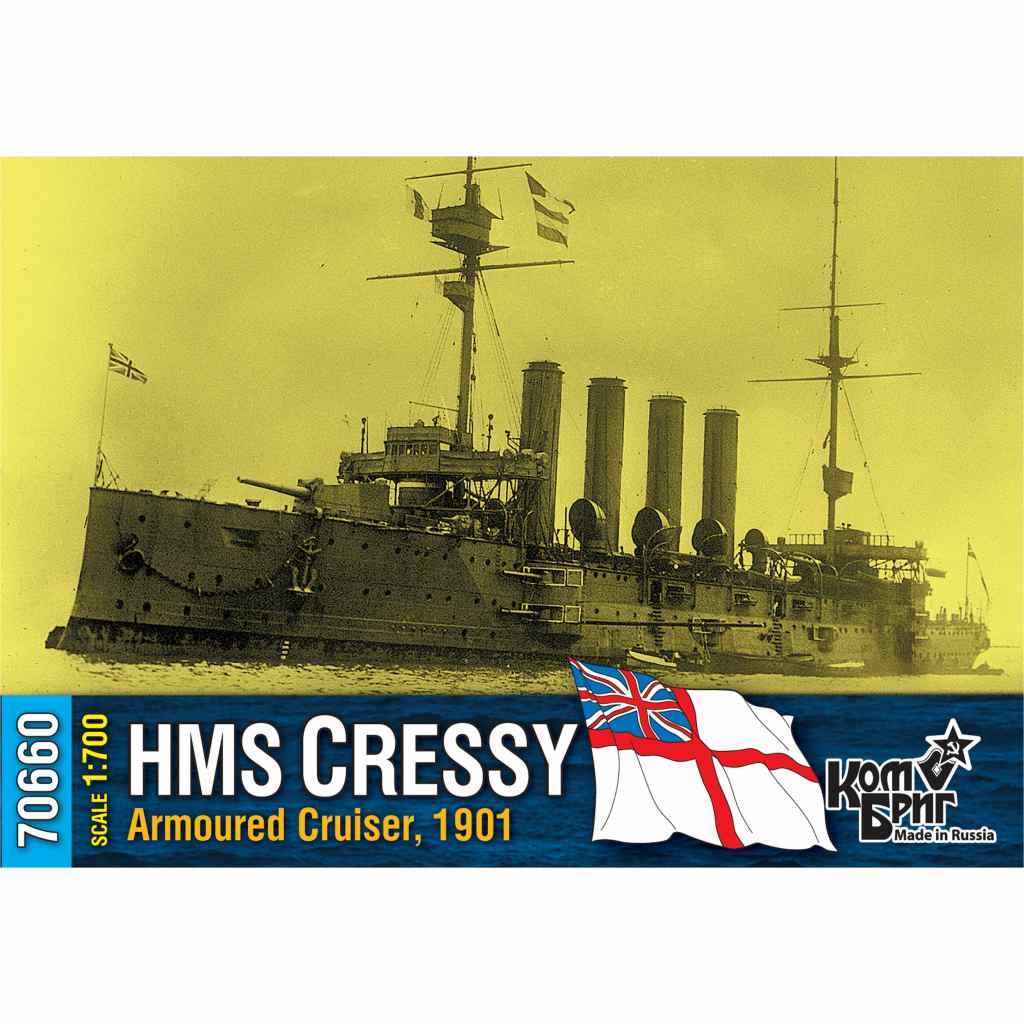 70660 英国海軍 クレッシー級装甲巡洋艦 クレッシー Cressy 1901