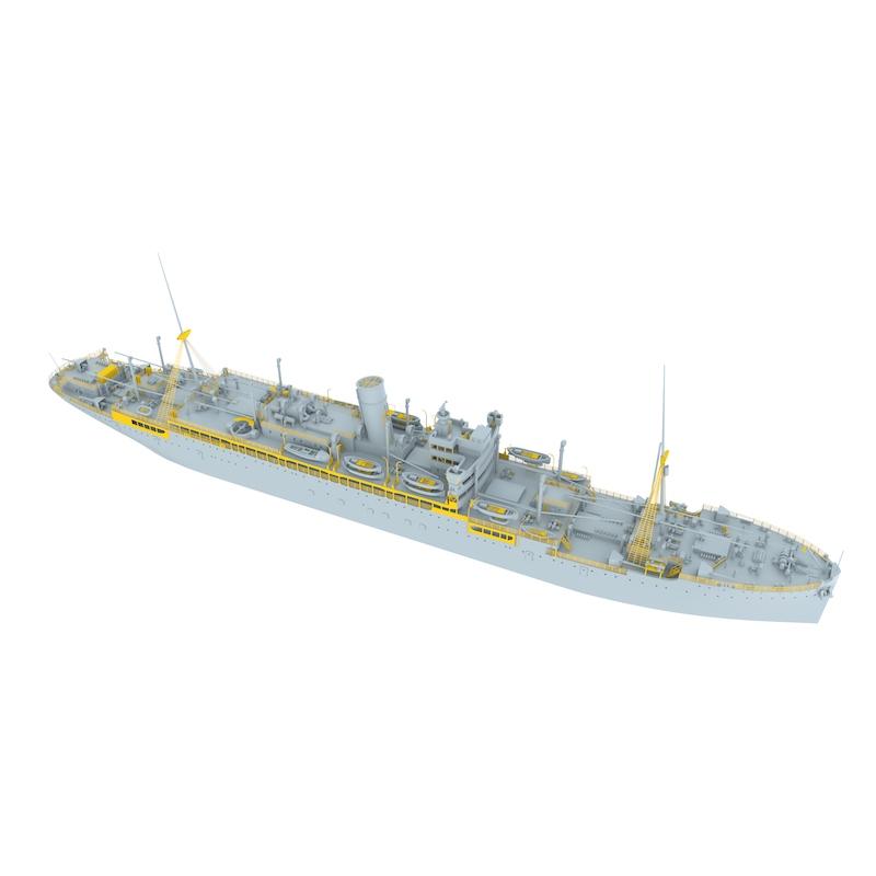 700-026 英海軍 仮装巡洋艦 ジャービス・ベイ Jervis Bay 1940