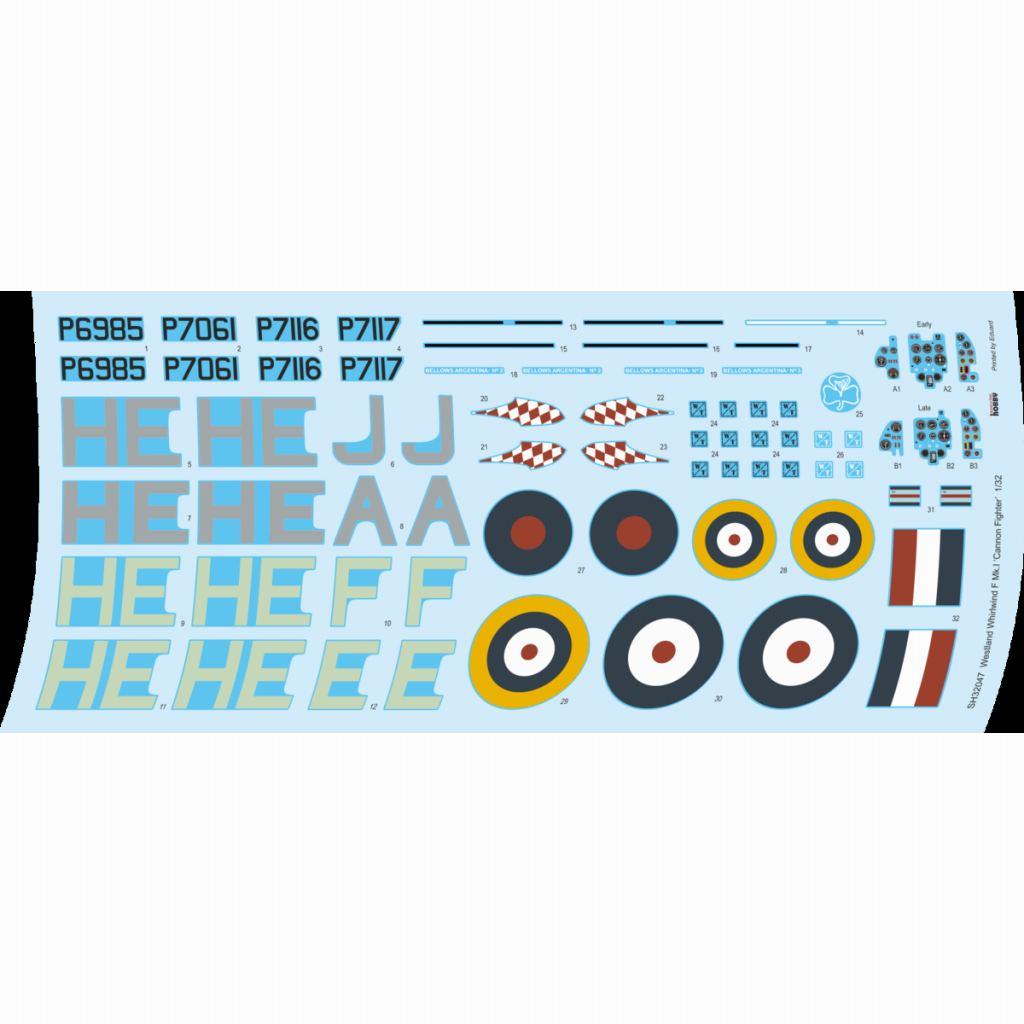 【新製品】32047 ウェストランド ホワールウィンド F Mk.I