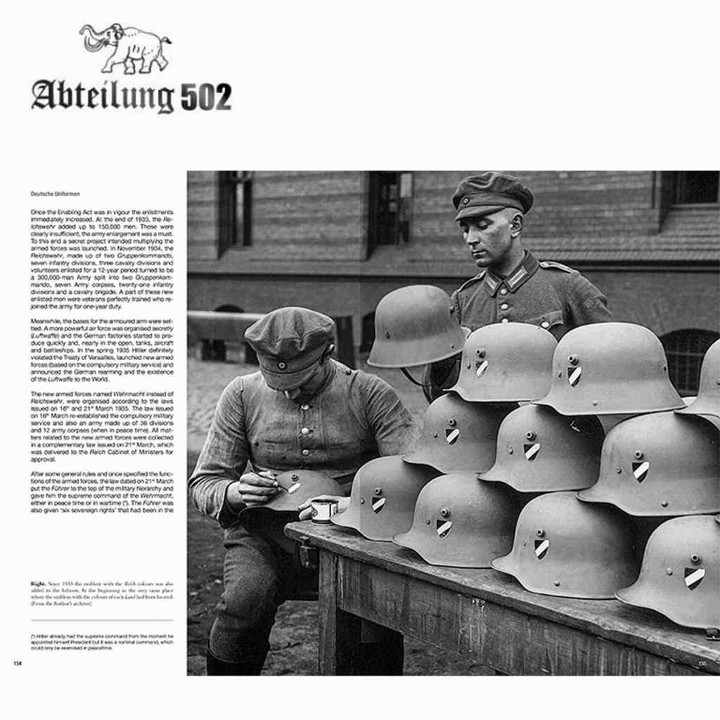 【新製品】ABT730 ドイツ軍のユニフォーム Vol.I 1919-1935