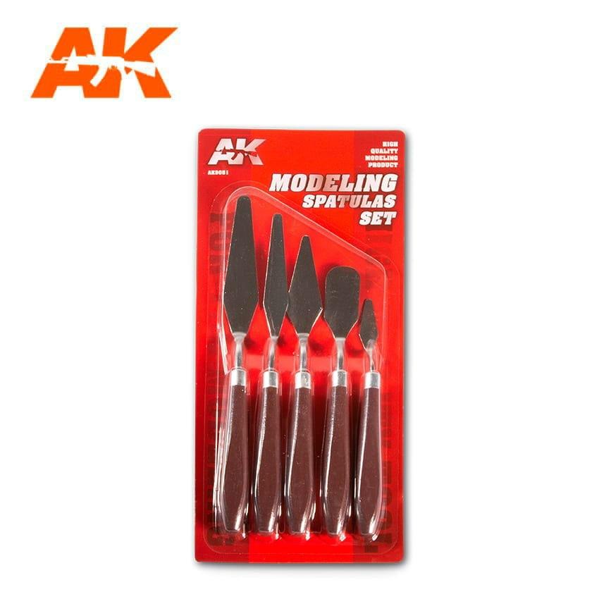 【新製品】AK09051 モデリングスパチュラセット