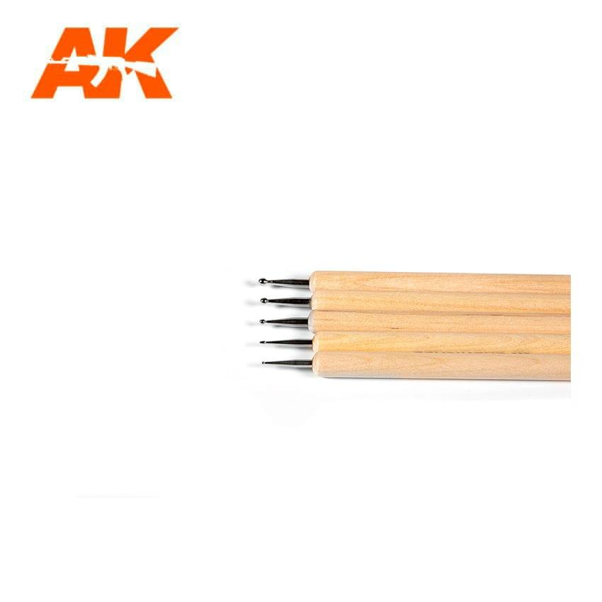 【新製品】AK09052 スカルプティングバーニッシャーセット