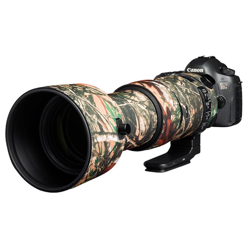 イージーカバー レンズオーク シグマ 60-600mm F4.5-6.3 DG OS HSM Sport 用 フォレスト カモフラージュ