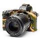 イージーカバー Nikon Z50 用 カモフラージュ