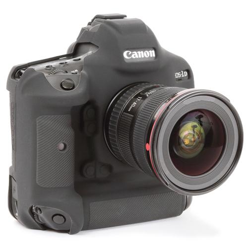 イージーカバー Canon EOS-1D X Mark III 用 ブラック 液晶保護フィルム付属