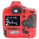 イージーカバー Canon EOS-1D X Mark III 用 レッド 液晶保護フィルム付属