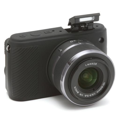イージーカバー Nikon1 S1 用 ブラック