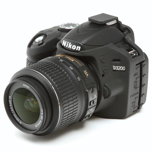 イージーカバー Nikon D3200 用 ブラック