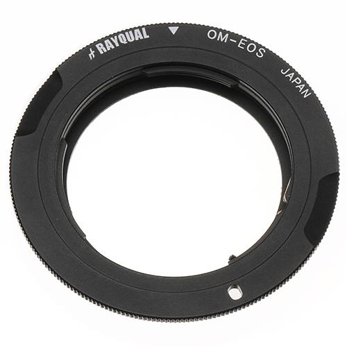 Rayqual 日本製レンズマウントアダプター<EOSマウントボディ>OLYMPUS OMレンズ/OM-EOS