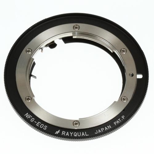 Rayqual 日本製レンズマウントアダプター<EOSマウントボディ>Nikon F レンズ(Gレンズ対応)/NFG-EOS