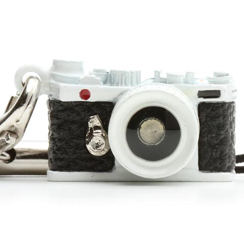 ミニチュアカメラストラップ レンジファインダータイプ ホワイト