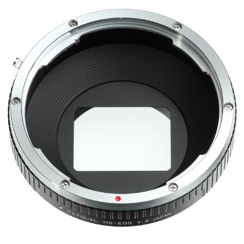 Rayqual 日本製レンズマウントアダプター<EOSマウントボディ>ハッセルブラッド レンズ/HS-EOS