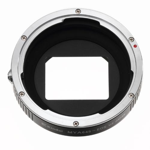 Rayqual 日本製レンズマウントアダプター<EOSマウントボディ>マミヤ645レンズ/MA-EOS