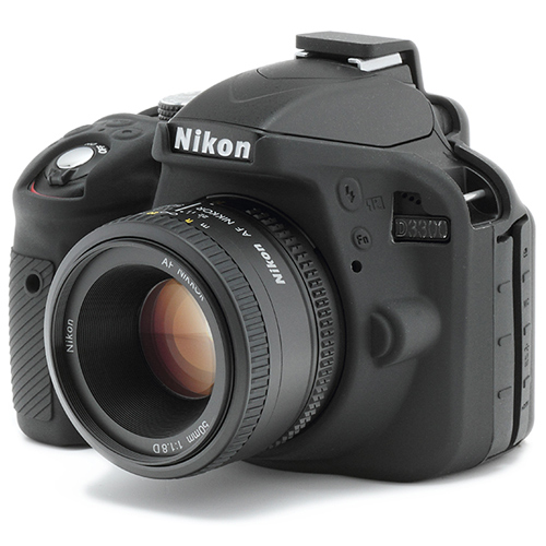 イージーカバー Nikon D3300 用 ブラック