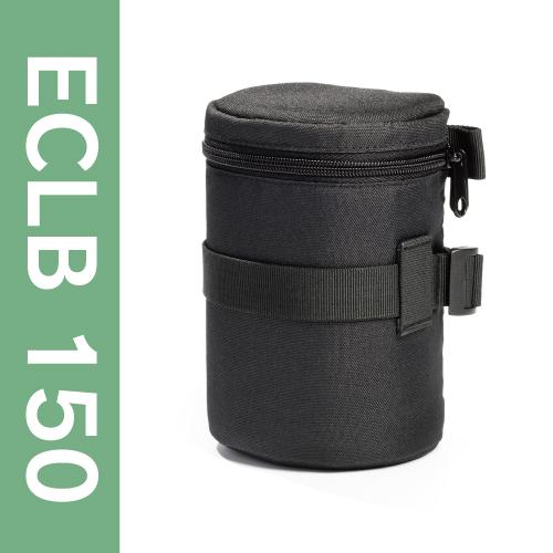 イージーカバー レンズバッグ【ブラック】 ECLB150
