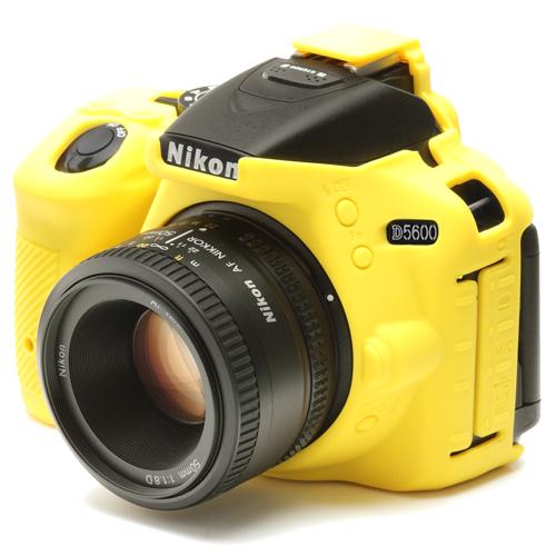 イージーカバー Nikon D5600 用 イエロー
