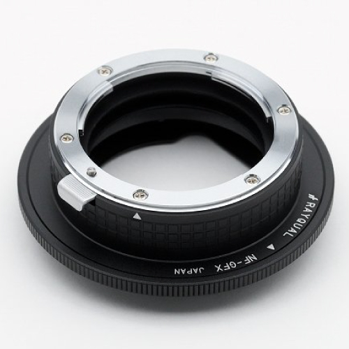 Rayqual 日本製レンズマウントアダプター<FUJI GFX 50Sマウントボディ>Nikon Fレンズ/NF-GFX