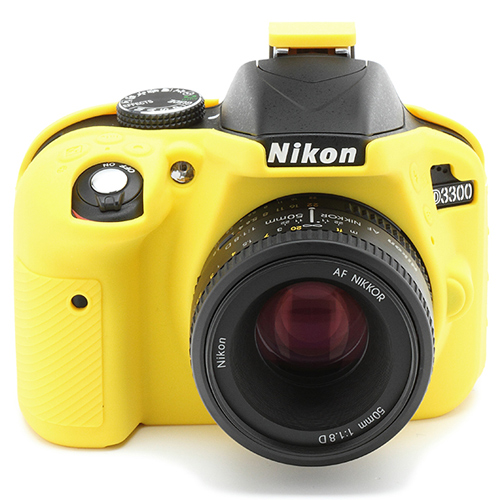 イージーカバー Nikon D3300 用 イエロー