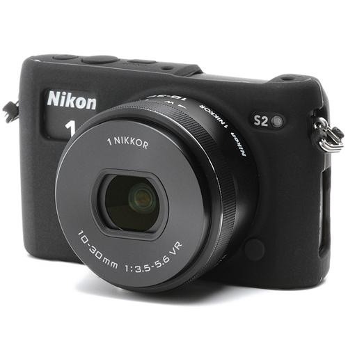 イージーカバー Nikon1 S2 用 ブラック