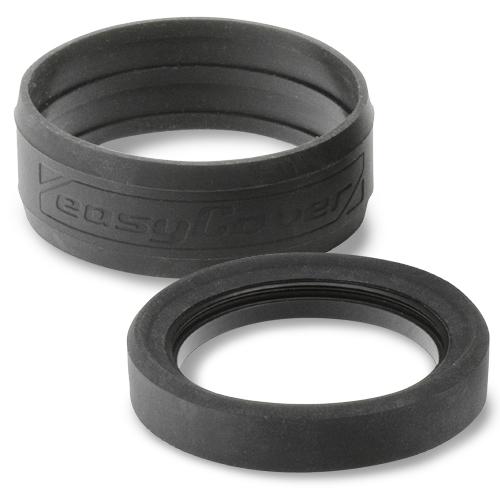 イージーカバー レンズリム67mm(リング+バンパー)ブラック