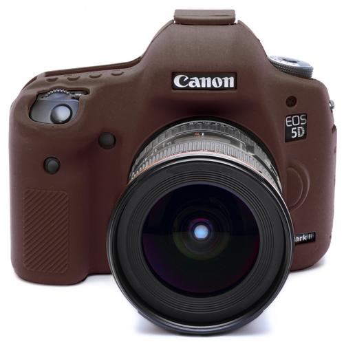 イージーカバー Canon EOS 5DS / 5Ds R / 5D Mark3用 限定カラー・チョコブラウン