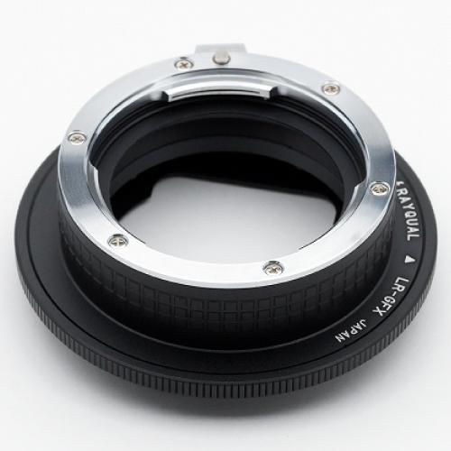 Rayqual 日本製レンズマウントアダプター<FUJI GFX 50Sマウントボディ>ライカRレンズ/LR-GFX