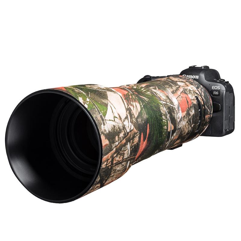 イージーカバー レンズオーク キヤノン RF800mm F11 IS STM 用 フォレストカモフラージュ