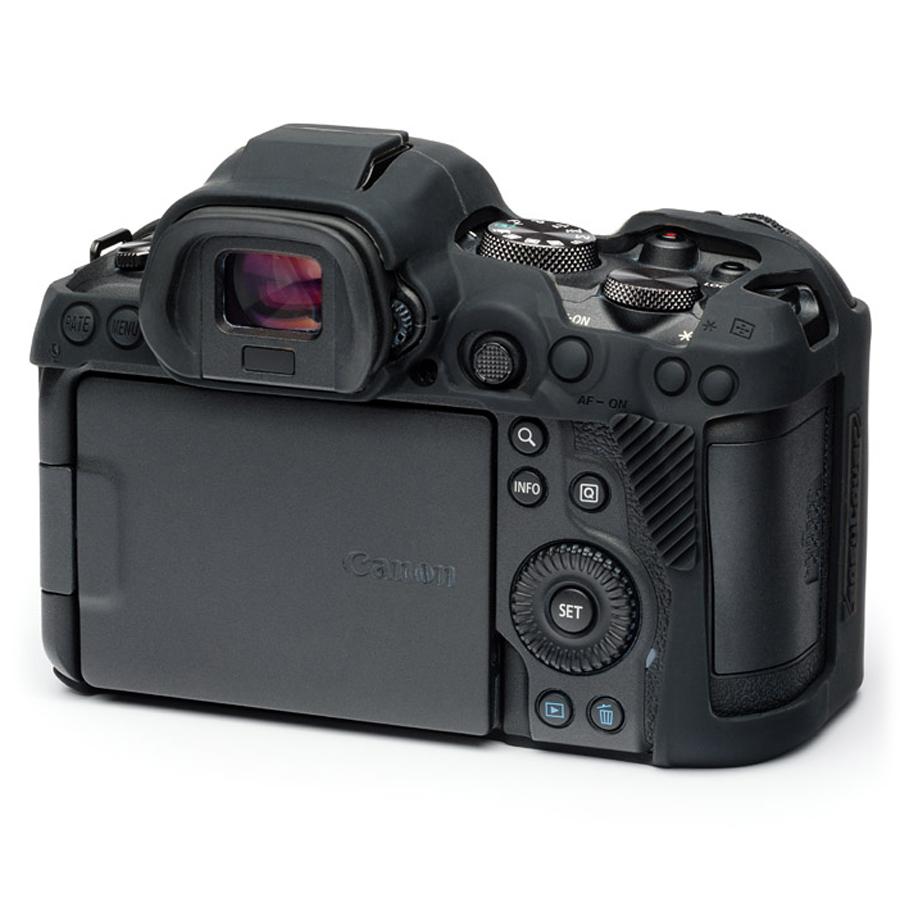 イージーカバー Canon EOS R5/R6 用 ブラック 液晶保護フィルム付属