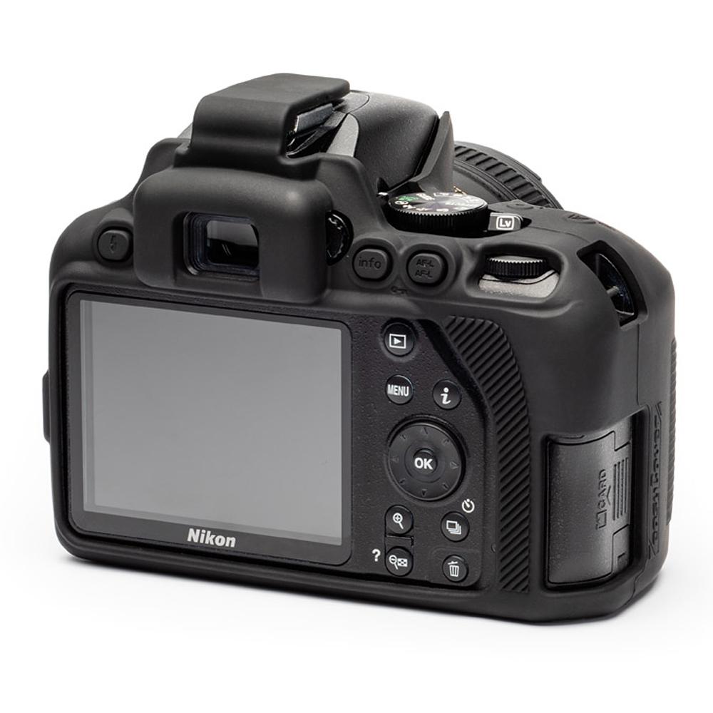 イージーカバー Nikon D3500 用 ブラック