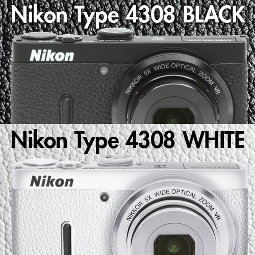 ニコン クールピクスP330 用張り革キット 4308ブラック