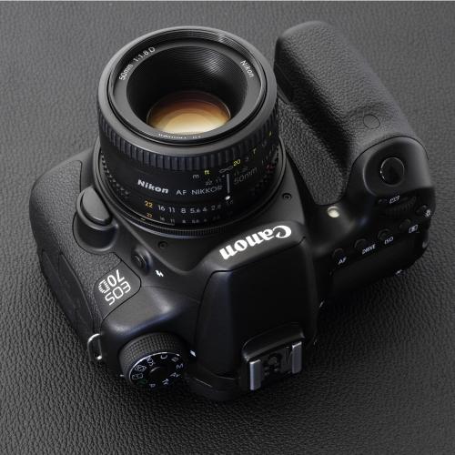 Rayqual 日本製レンズマウントアダプター<EOSマウントボディ>Nikon Fレンズ/NF-EOS