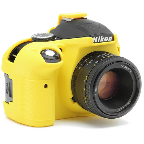 イージーカバー Nikon D3400 用 イエロー