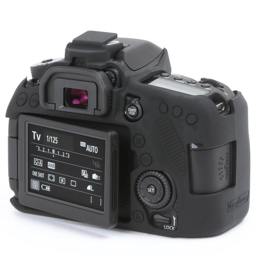 イージーカバー Canon EOS 80D 用 ブラック