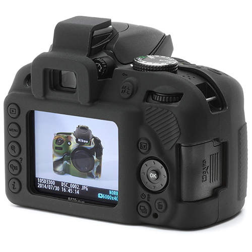 イージーカバー Nikon D3400 用 ブラック