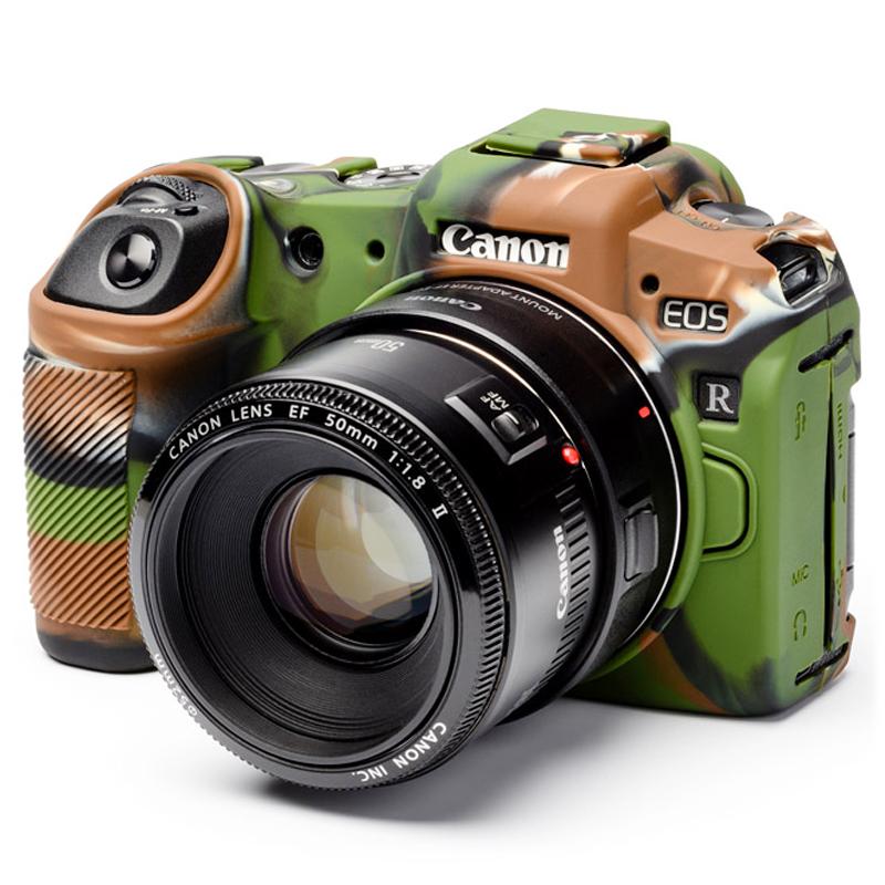 イージーカバー Canon EOS RP 用 カモフラージュ 液晶保護フィルム付属