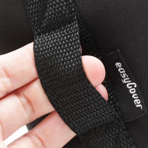 イージーカバー ネオプレーン レンズポーチ LARGEサイズ 18cm【ブラック】