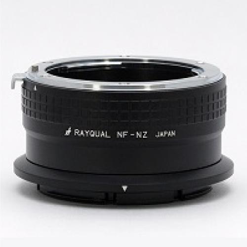 Rayqual 日本製レンズマウントアダプター<ニコンZマウントボディ>ニコンFレンズ/NF-NZ
