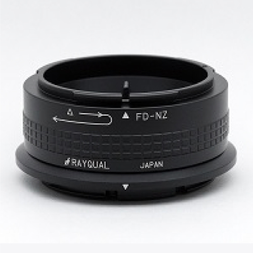 Rayqual 日本製レンズマウントアダプター<ニコンZマウントボディ>キヤノン FDレンズ/FD-NZ