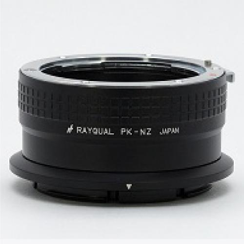 Rayqual 日本製レンズマウントアダプター<ニコンZマウントボディ>ペンタックスKレンズ/PK-NZ