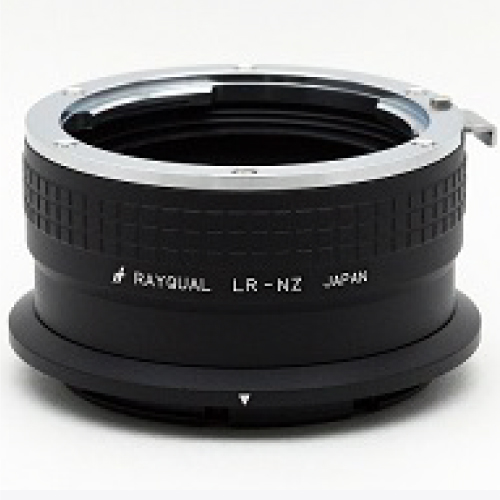 Rayqual 日本製レンズマウントアダプター<ニコンZマウントボディ>ライカRレンズ/LR-NZ